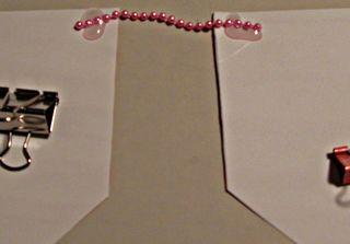 Valentine Banner Glue