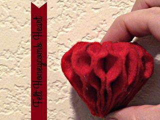 Titled Heart Honeycomb