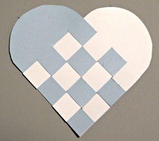Woven Heart paper