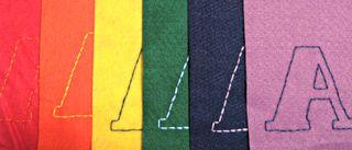 Felt Alphabet Banner 1