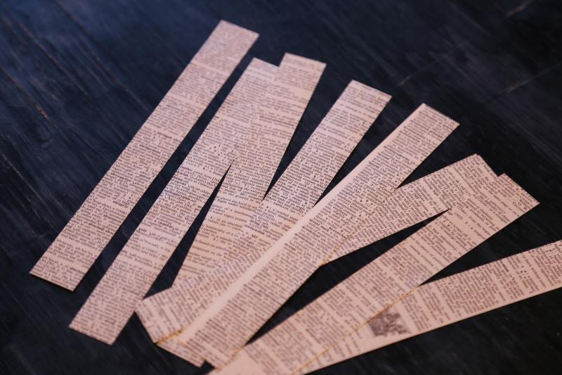Star Garland Paper Strips