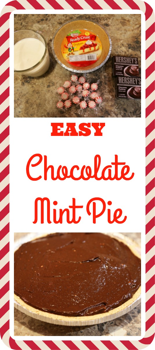 Pinterest Chocolate Mint Pie