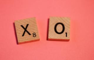 Scrabble Magnets 5