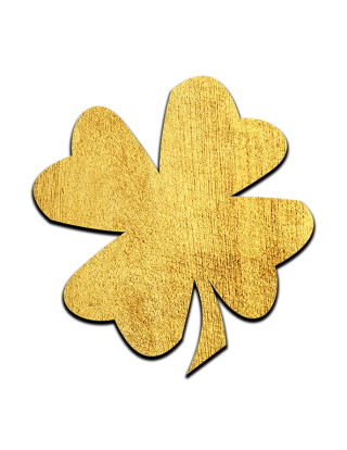 Gold Shamrock resized