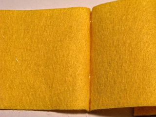 Felt Book Cover Spine