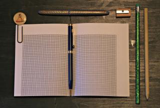 Bullet Journal Flat Lay