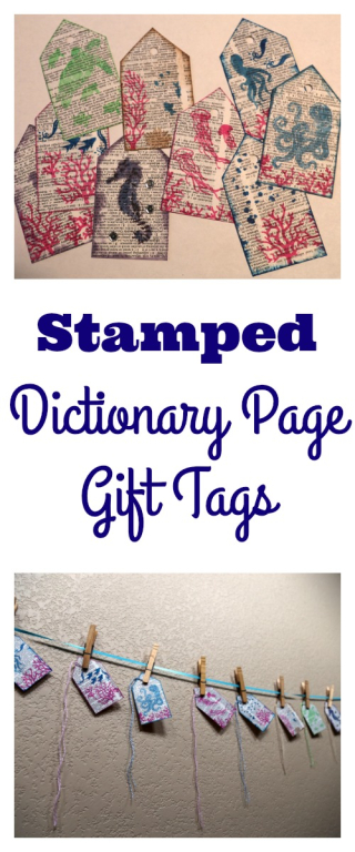 Pinterest Stamped Page Tags