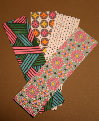 Colored Bookmarks 1