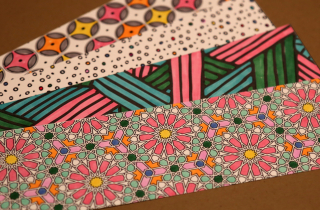 Colored Bookmarks 2