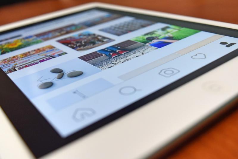 Instagram tablet
