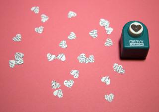 Confetti Heart Punch