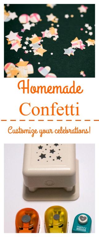 Pinterest Homemade Confetti