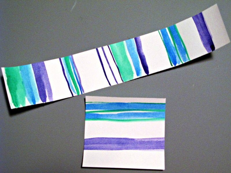 Watercolor Scraps