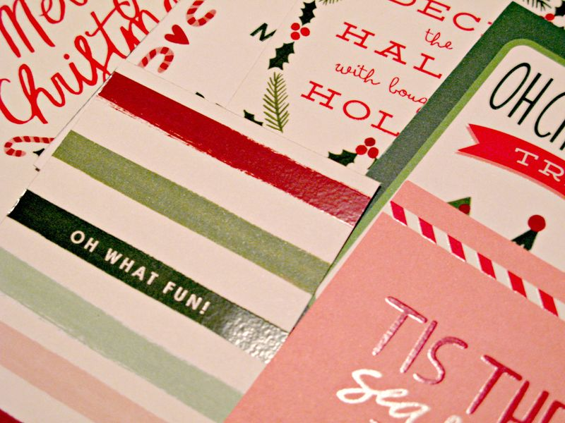 Trimmed Christmas Card Fronts 2