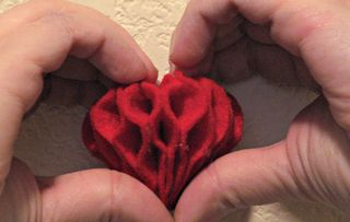 Heart Honeycomb Completed 1
