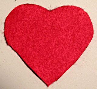 Woven Heart Backing