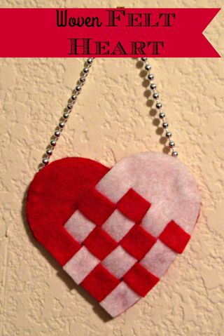 Titled Woven Heart