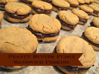 Titled Peanut Butter Fudge Cookies