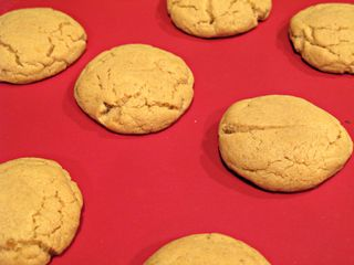 Peanut Butter Cookies Fresh out of the oven