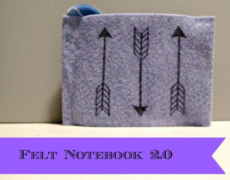 Titled Felt notebook 2.0