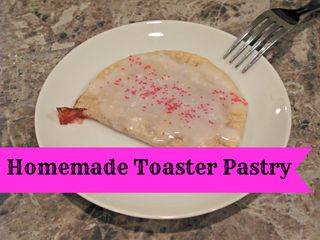 Titled Homemade Pop Tart
