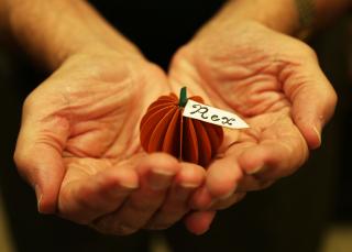 Pumpkin Place card 8