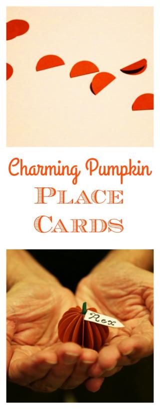 Pinterest Pumpkin Place Cards