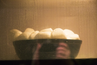 Marshmallows overflowing