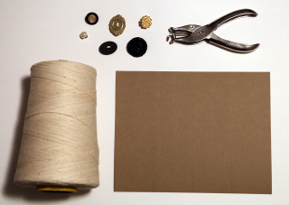Button Tags Materials