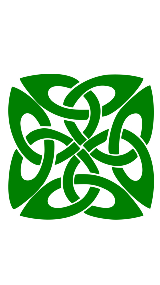 Celtic Knot cellphone wallpaper