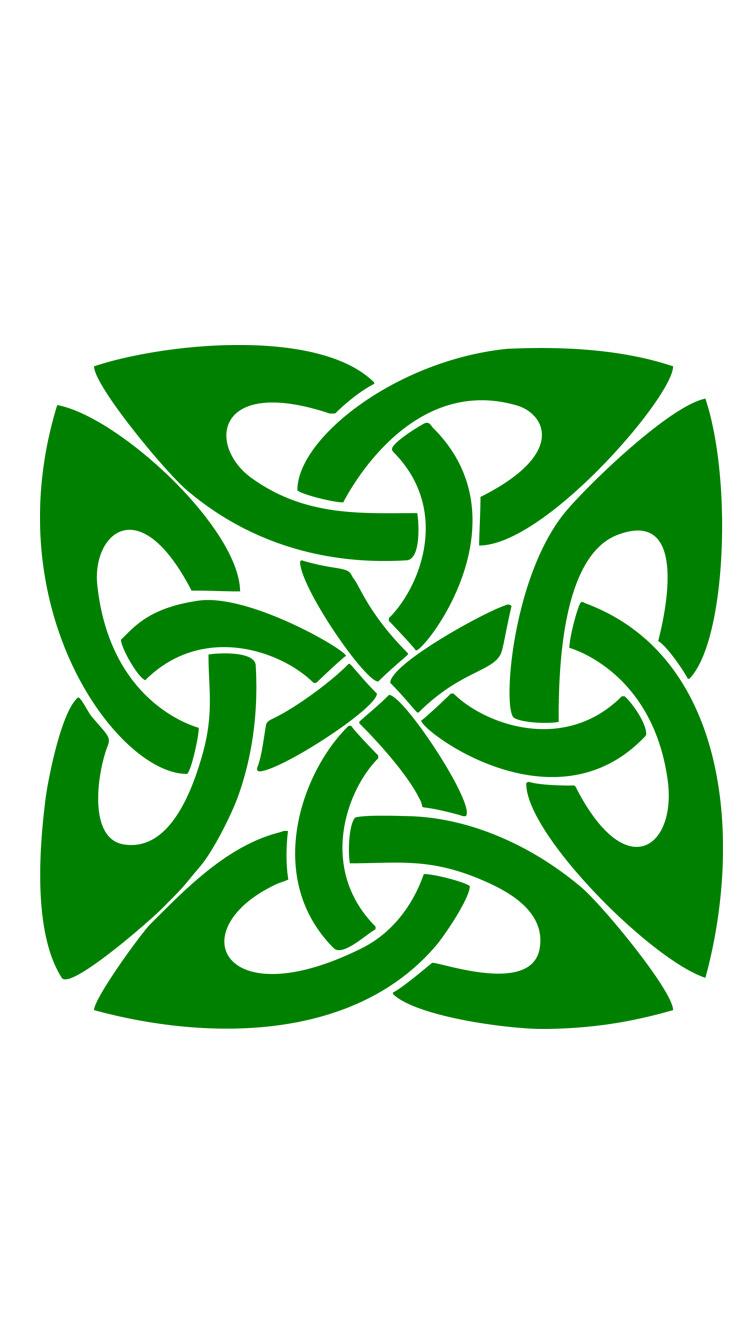 Celtic Knot cellphone wallpaper