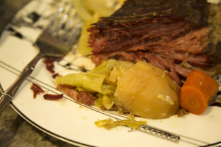 Corned Beef and Cabbage Finished 1