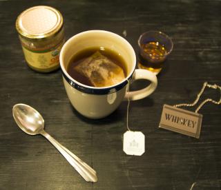 Hot Toddy Tea Brewing