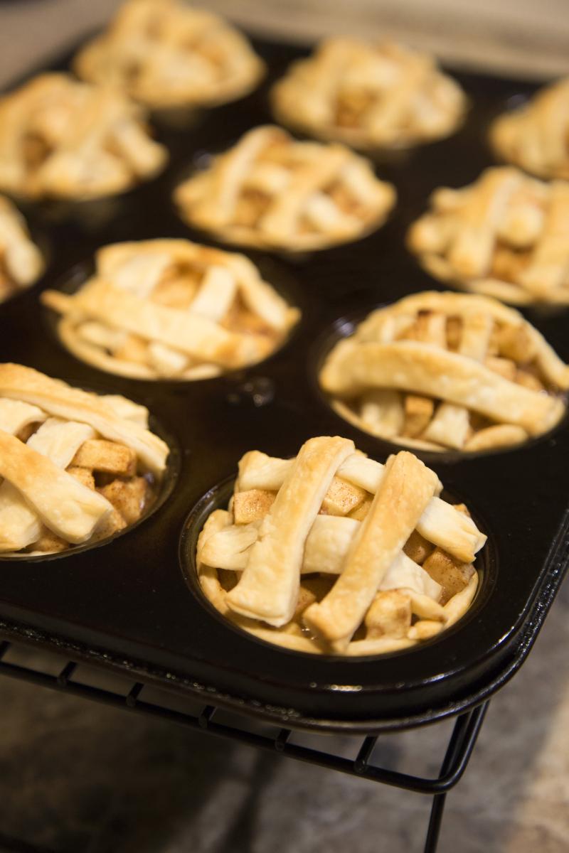 Mini Apple Pie finished
