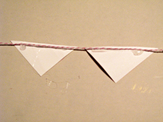 Watercolor triangles glue method A