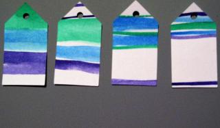 Watercolor Tags 4