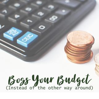 Boss Your Budget Header