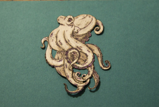 Beccy's Place colored Octopus