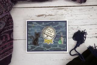 Critter Stencil Card 7