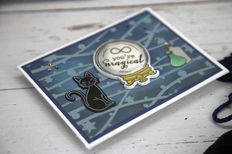 Critter stencil Card 8