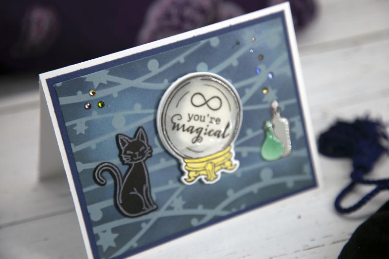 Critter Stencil Card 9