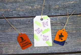 Small Stamp Series String Tags