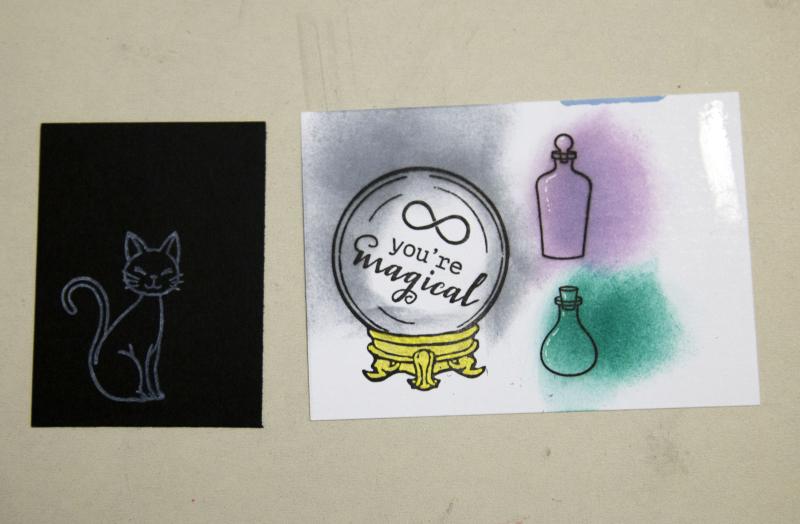 Critter Stencil Card 5