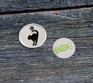 Small Stamp Series Circle Tags