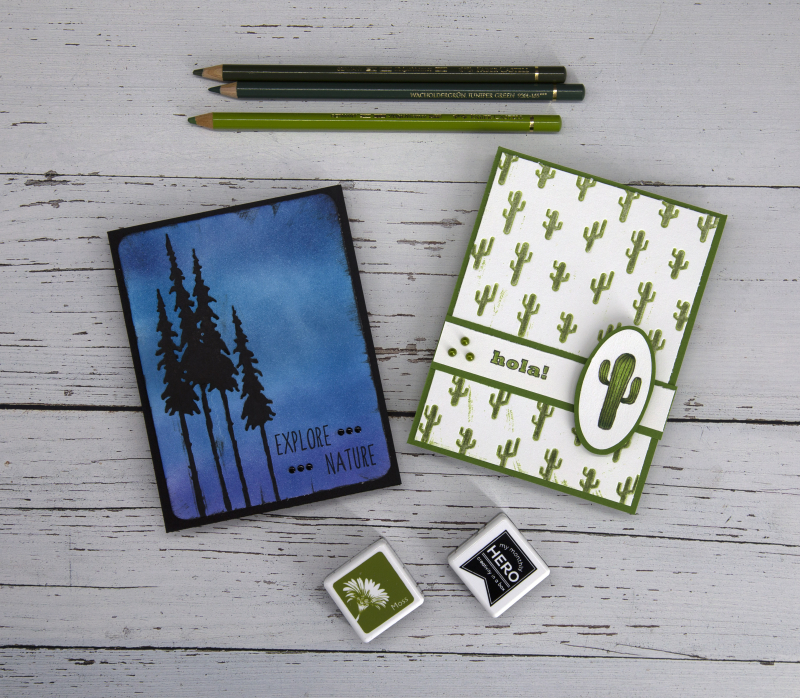 August Embossed Vacation