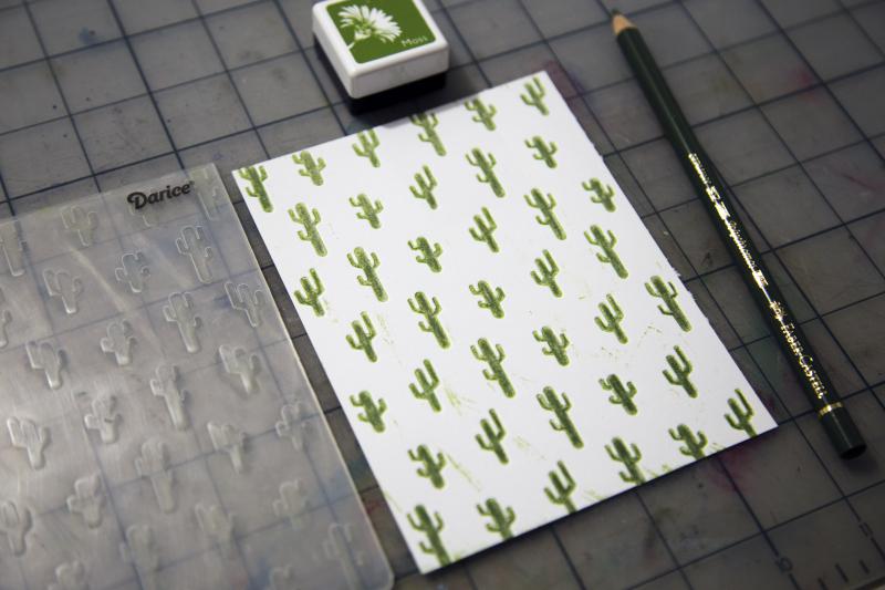 Cactus Embossed