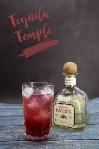 Tequila Temple Pin